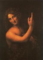 St. John The Baptist, Leonardo Davinci, 1513-1516