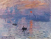 Impression:Sunrise, Claude Monet,1873