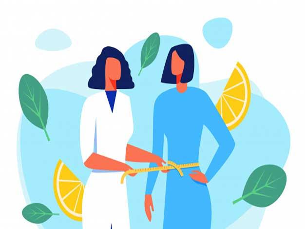 برنامه لاغری و کاهش وزن حضوری
