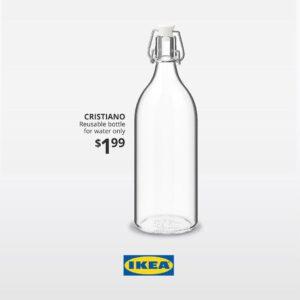 بطری آب کریستیانو